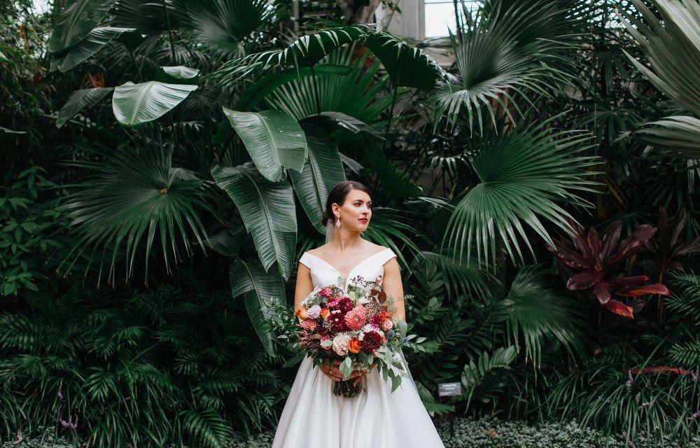 Brooke + Mark Franklin Park Conservatory Wedding » Red