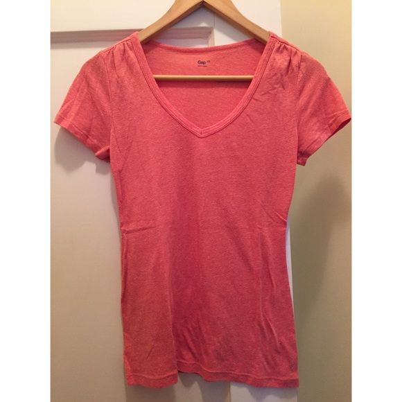 Gap Vneck never worn Plain v neck , super soft GAP Tops Tees - Short Sleeve