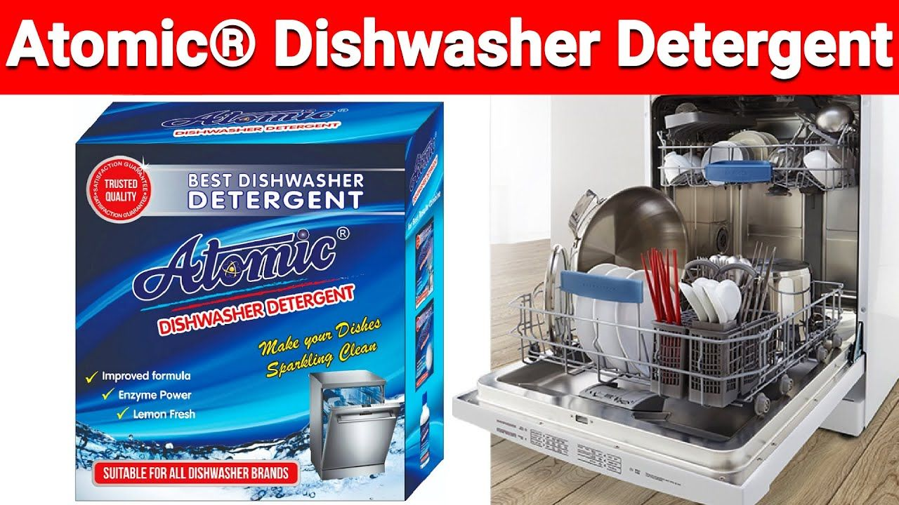 Atomic Is The Best Dishwasher Detergent For Indian Utensils Compatible With All Dishwasher Bra In 2021 Dishwasher Detergent Best Dishwasher Best Dishwasher Detergent