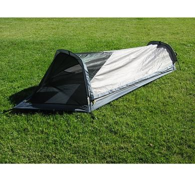 Ultralight Low Cost One Person Man Bivy Camping Tent Gofastandlight Com Bivy Tent Backpacking Tent Camping Survival