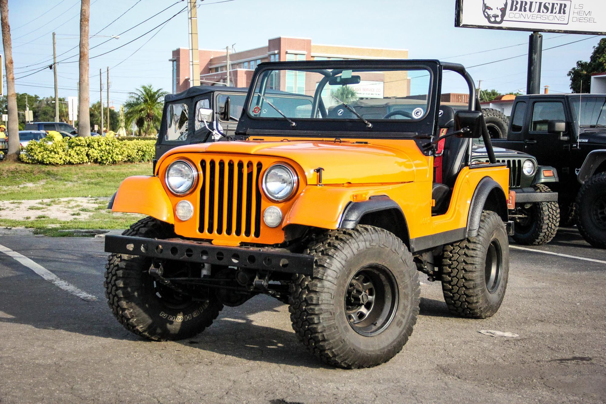 Jeep Wrangler CJ Diesel Conversion