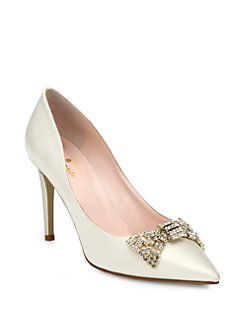 Kate Spade New York - Pezz Satin Pumps