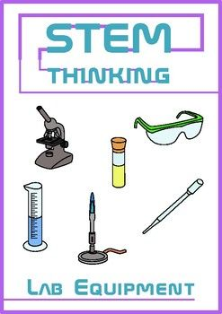 Science Lab Equipment Clip Art For Personal And Commercial Use This Set Contains 46