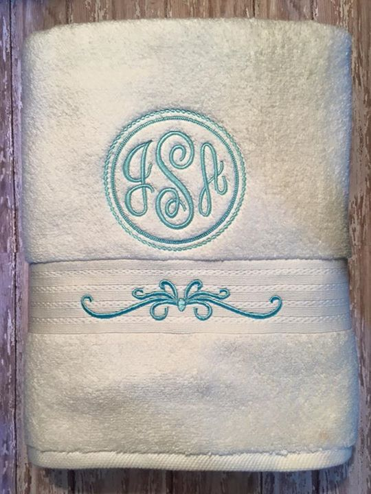 Use The Frilly Motif On The Kitchen Towel I Want To Make With The Word Mint  Above It.