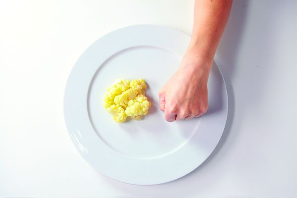 Precision Nutrition Palm Sized Portions Cauliflower Example