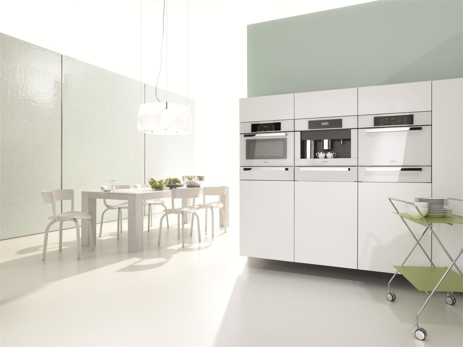 Miele Introduces The Timeless Brilliant White Collection  Kitchens Endearing Miele Kitchens Design Design Inspiration