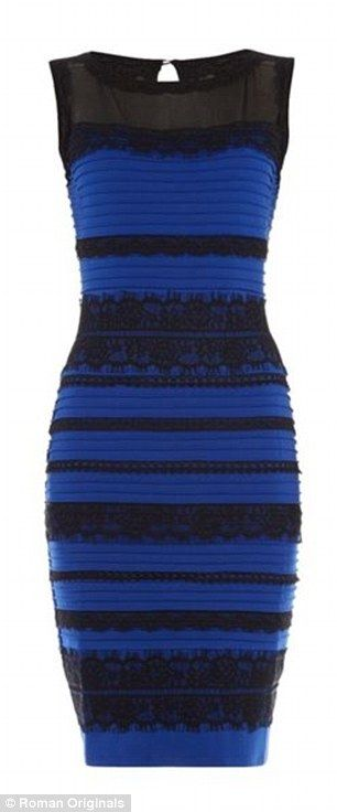 The dress that divided the internet IS blue and black | Blue ...