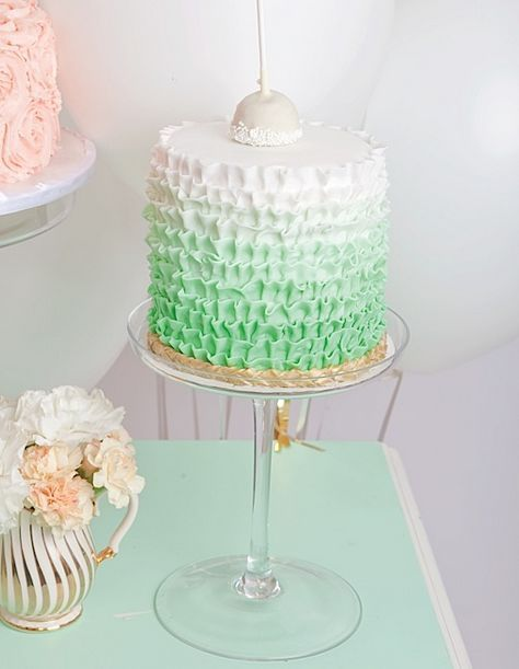 REVEL: Ombre, Mint, iced ribbons