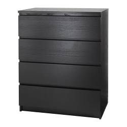 Chests Of Drawers Ikea Ikea Malm Ikea Black Dresser Malm