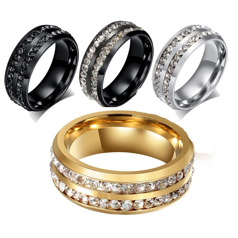 stainless steel wedding bands mens