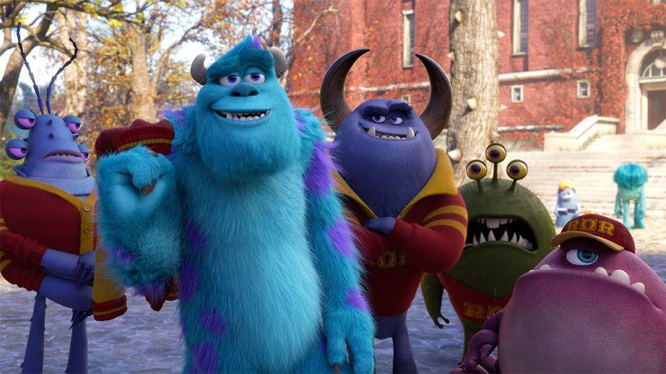 Monsters University llegará a los cines de Latinoamérica a partir del 19 de junio de 2013, en Disney Digital 3D™.