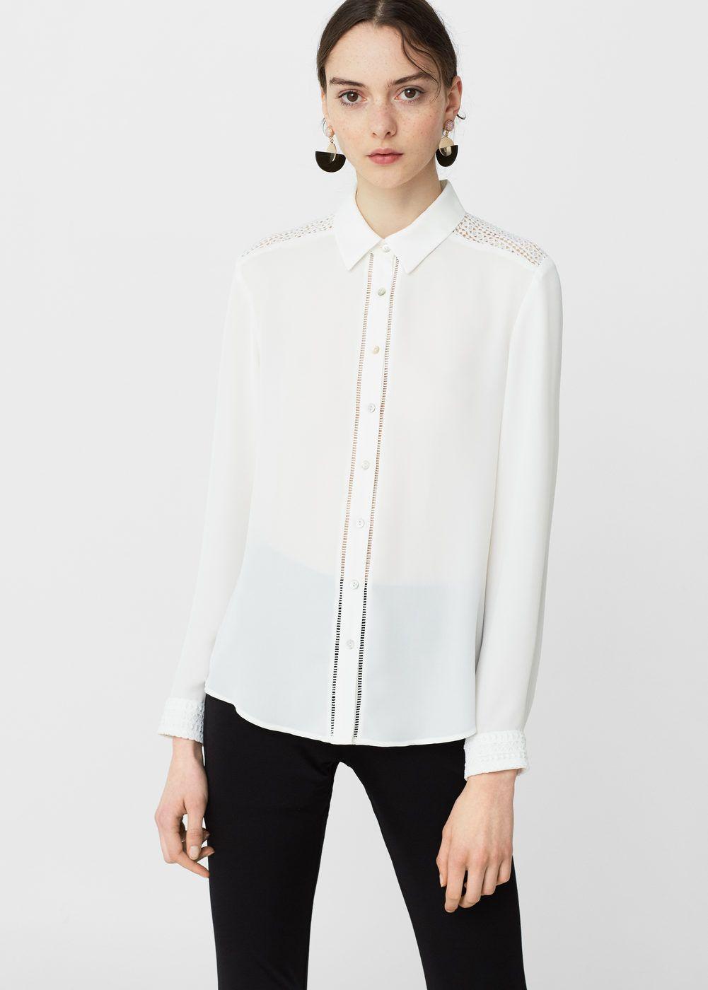 Túnica 2019Aw Y 17 Camisa BlancaCamisas En 16 Mujer Fluida vmNO0wny8