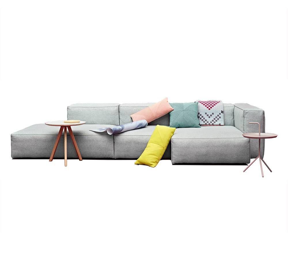 hay sofa kvadrat nolana charcoal mags soft modulaire bank ontzettend fijne met kwaliteits stof alleen bij living and company online samen te stellen