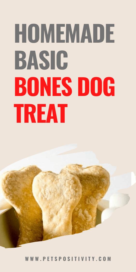 SIMPLE HOMEMADE BASIC BONES DOG TREAT