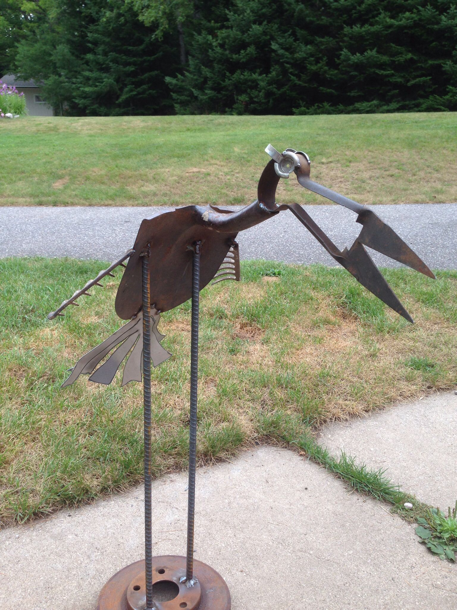 The Bird Is Made With A Shovel, Some Kind Of