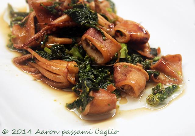 """""""Aaron passami l'aglio"""": TOTANI E CIME DI RAPA"""