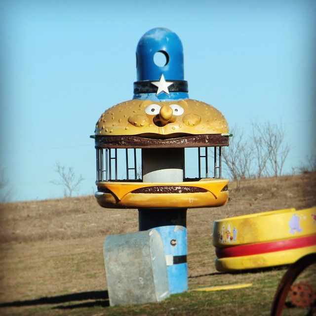 Great Antiqued Officer Big Mac Climber And A Look Back At Mcdonaldland Big Mac Antiques Officer