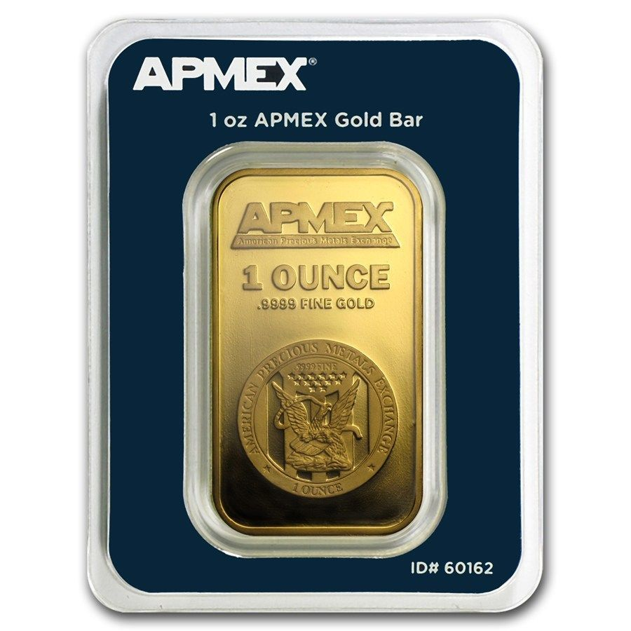 1 Oz Gold Bar Apmex In Tep Package Sku 60162 Goldbar