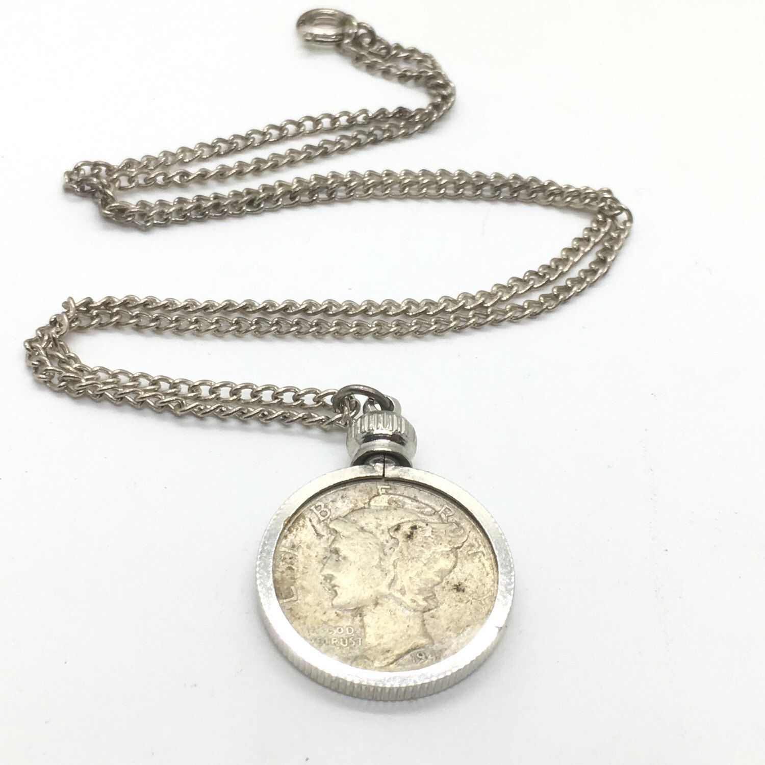 with b iron wrought gold item coin necklace medallion silver ancient