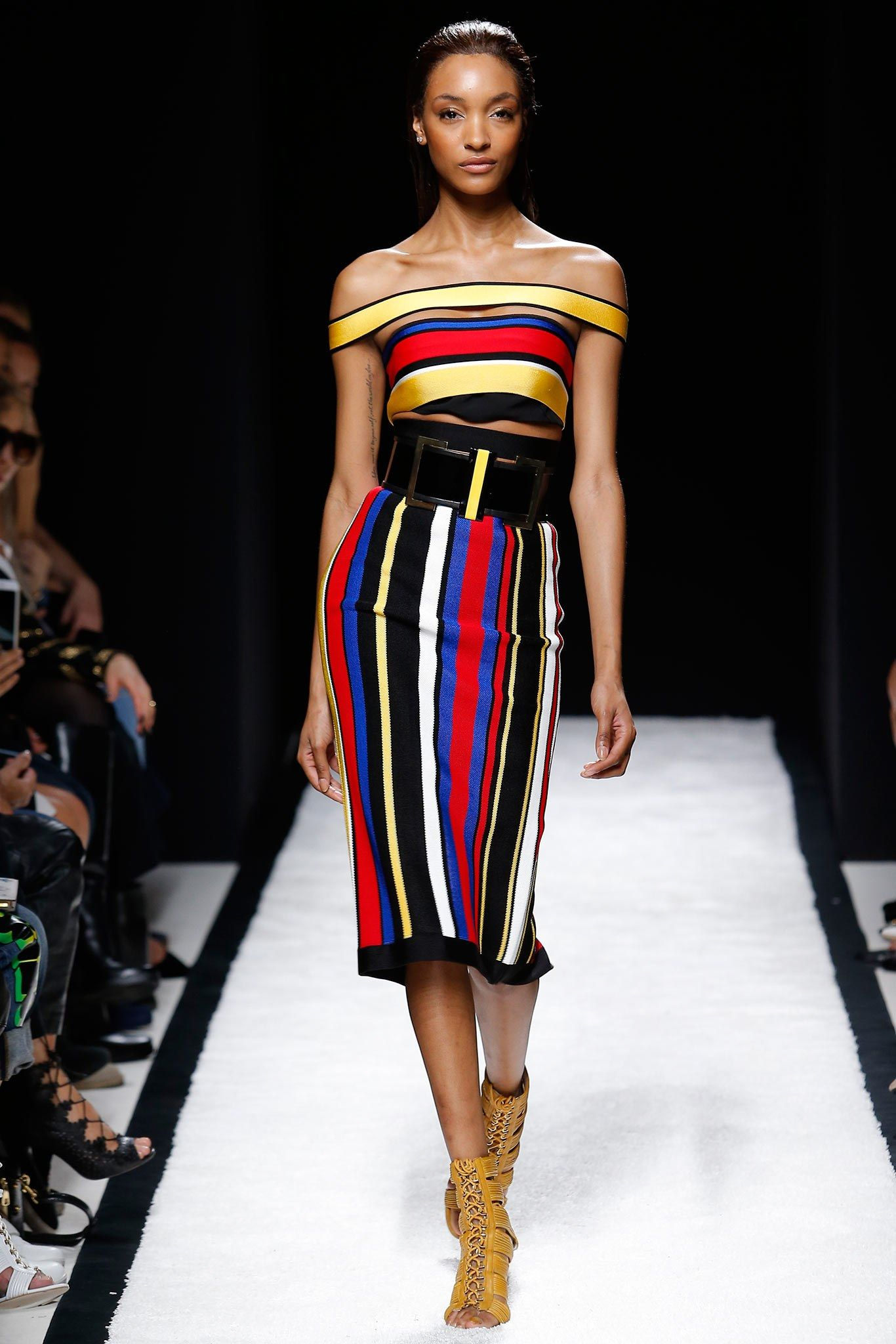 fbe21d01cc Balmain Spring 2015 Ready-to-Wear Collection Photos - Vogue
