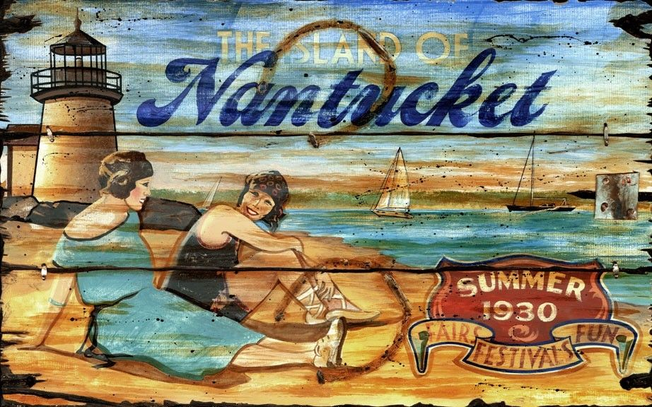 "Can change ""Nantucket""- -to another beach word choice to create something of your very own."