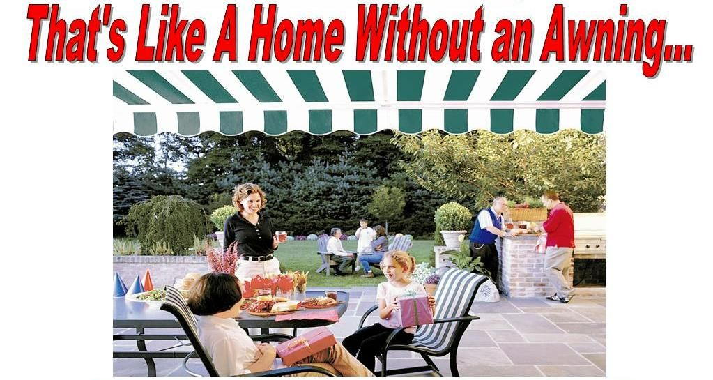 A bun without a burger? A dog without a bun? Thats like a home without an awning!!!