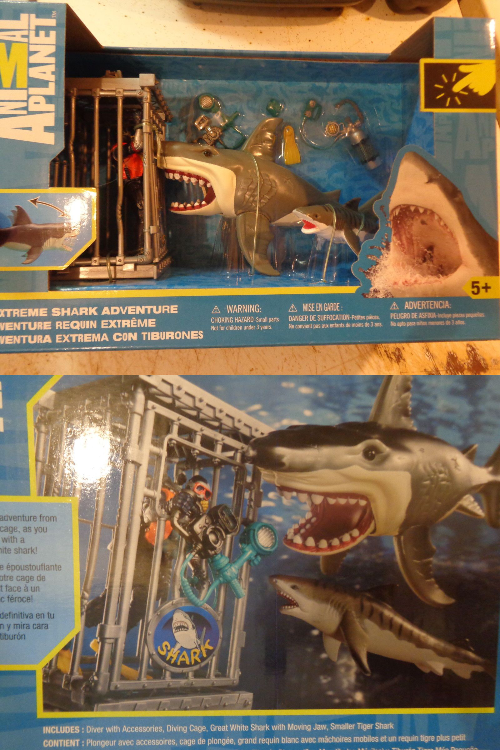 Image of: Meme Animals And Nature 31744 Animal Planet Extreme Shark Adventure Cage Playset Toysrus Exclusive Toy u003e Buy It Now Only 4999 On Ebay Pinterest Animals And Nature 31744 Animal Planet Extreme Shark Adventure