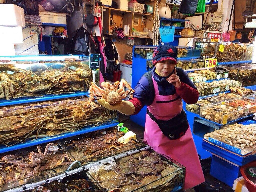 Noryangjin Ahjumma Crab Halal Korean Restaurant Halal Halal Recipes