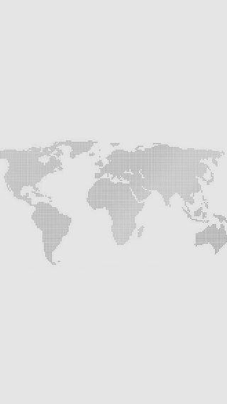 World Map Gray Dots iPhone 6 Wallpaper (iPhone Wallpapers) Wallpaper - copy world map wallpaper for mobile