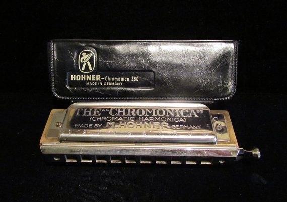 Retro Original Harmonica Classic design /& chrome finish