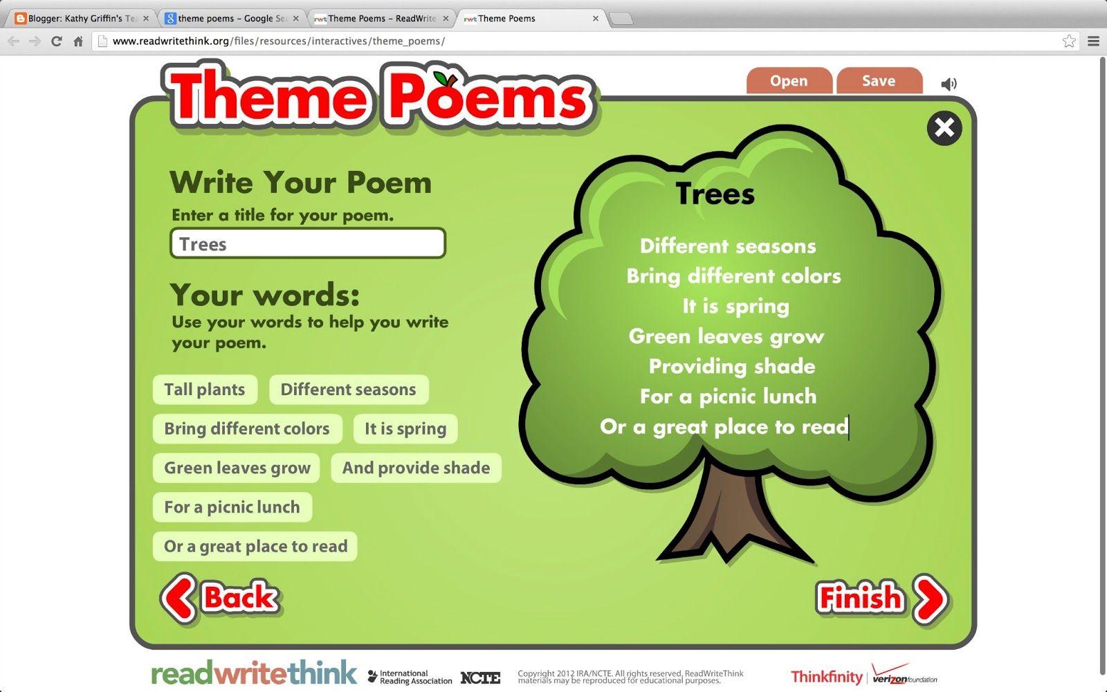 shape poem generator