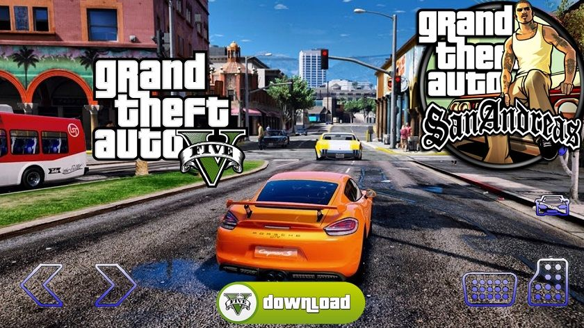 Grand Theft Auto v – GTA 5 mod apk 2018 for android devices Apk Obb