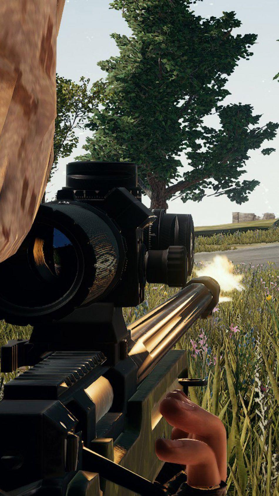 Sniper PlayerUnknown's Battlegrounds (PUBG) 4K Ultra HD Mobile Wallpaper