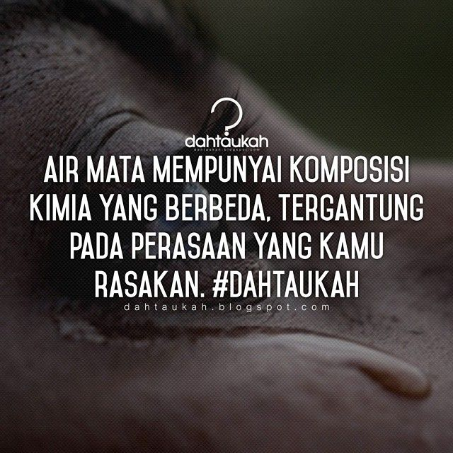 air mata mempunyai komposisi kimia yang berbeda tergantung pada