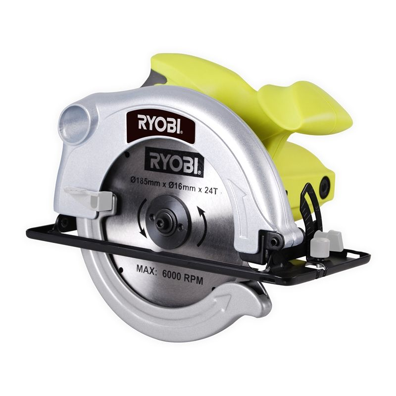 Ryobi 1200w 185mm corded circular saw in 6210404 bunnings our range the widest range of tools lighting gardening products ryobi corded circular saw keyboard keysfo Image collections