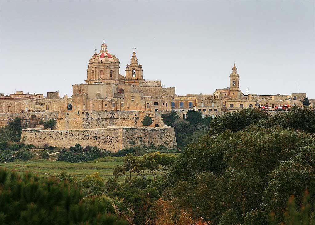 mdina malta medieval walled city footsteps malta on walled id=91433