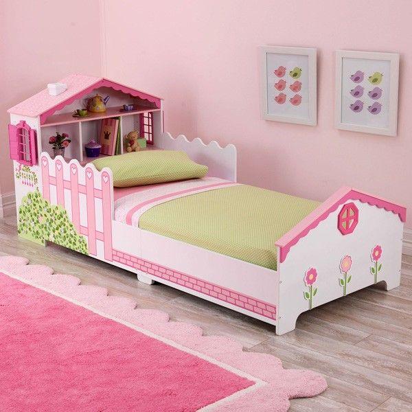 Bedroom Kidkraft Modern Toddler B On White Sleigh Bed For Boys And Girls By