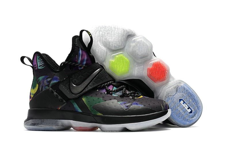bac92bc81392 Nike LeBron 14 Original LeBron 14 Nike LeBron 14 Black Moon Silver Shoes  South Beach Lebron 14 Nike Lebron WoLebron Kids Nike 2017 Nike Lebron James  14 ...