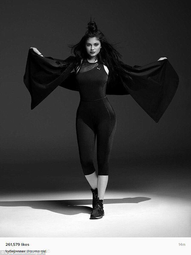 Image Result For Kylie Jenner Swan Puma Poses Pinterest Kylie