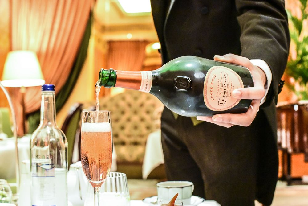 Champagne Afternoon Tea is the perfect way to celebrate any special occasion - SilverSpoon London