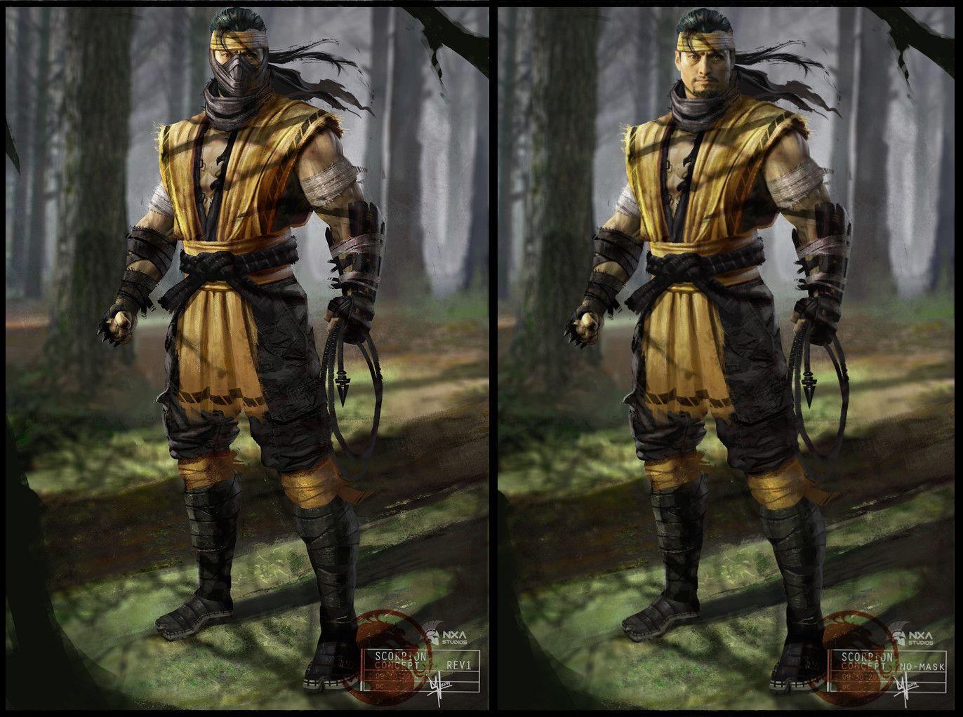 Artstation Mortal Kombat X Daniel Cortes Mortal Kombat X