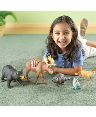 Learning Resources Jumbo Forest Animals Multi Forest Animals