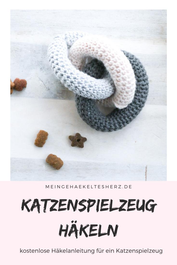 Photo of DIY Häkelkatzenspielzeug – Gordischer Knoten – Mein gehäkeltes Herz