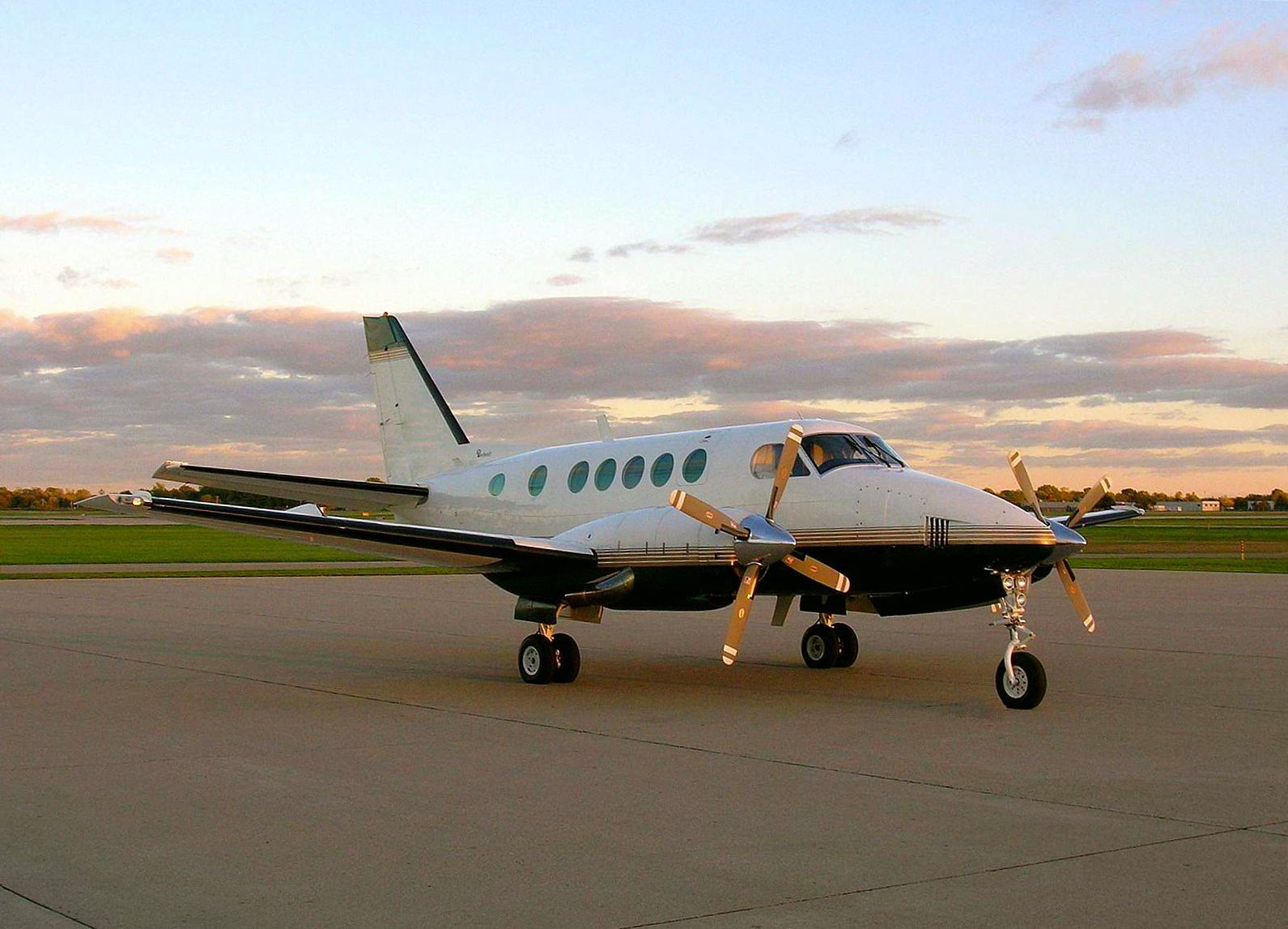 Improving upon the popular King Air 90 model, the King Air