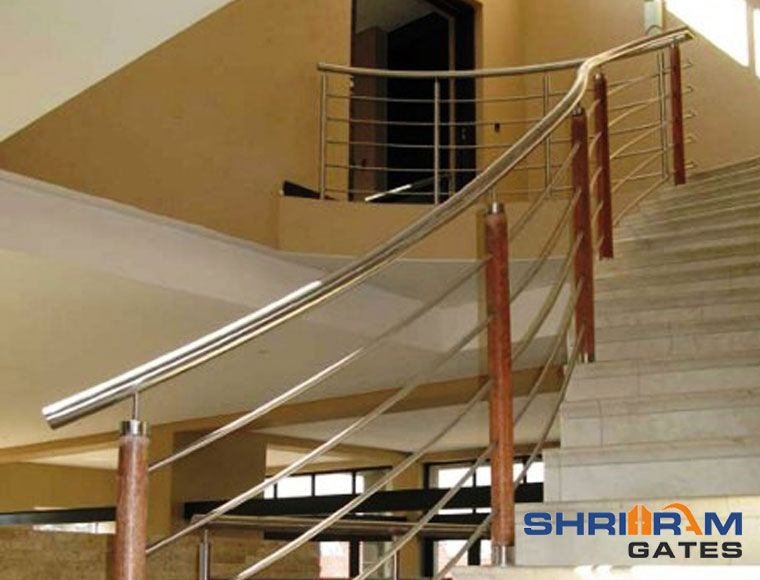 Stainless Steel Staircase Railings Stainless Steel Staircase Railing