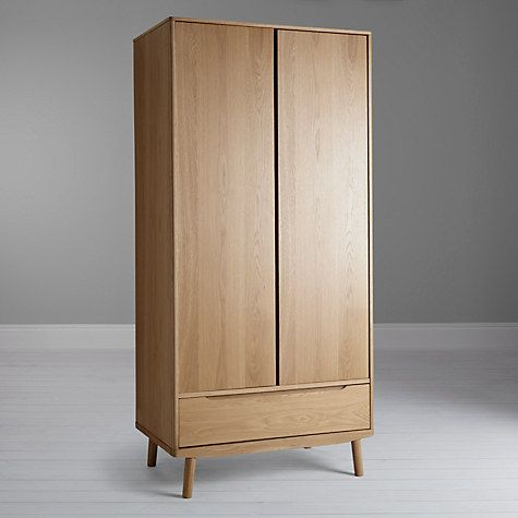 House By John Lewis Bow 2 Door Wardrobe Online At Johnlewis