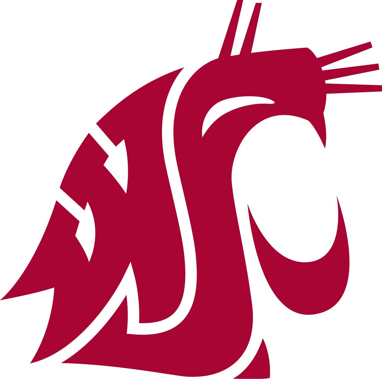 Washington State Cougars NCAA Decal Sticker Car Truck Window Bumper Laptop Wall