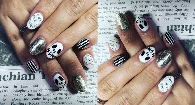 Halloween Nail Art To Get Now Seasonal Trends Everything Make Up