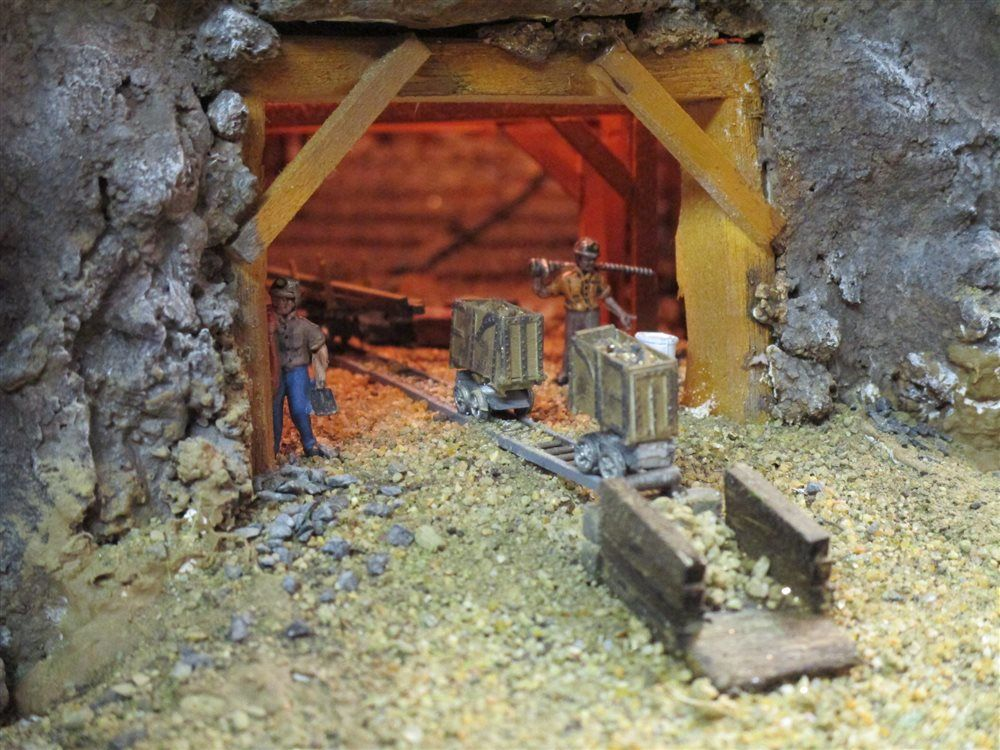 L2 Gold Mine 1 Model Railroader Magazine Model