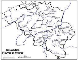 Carte Belgique Fleuves Et Rivieres.Carte Fleuves Belgique Recherche Google Dans Ma